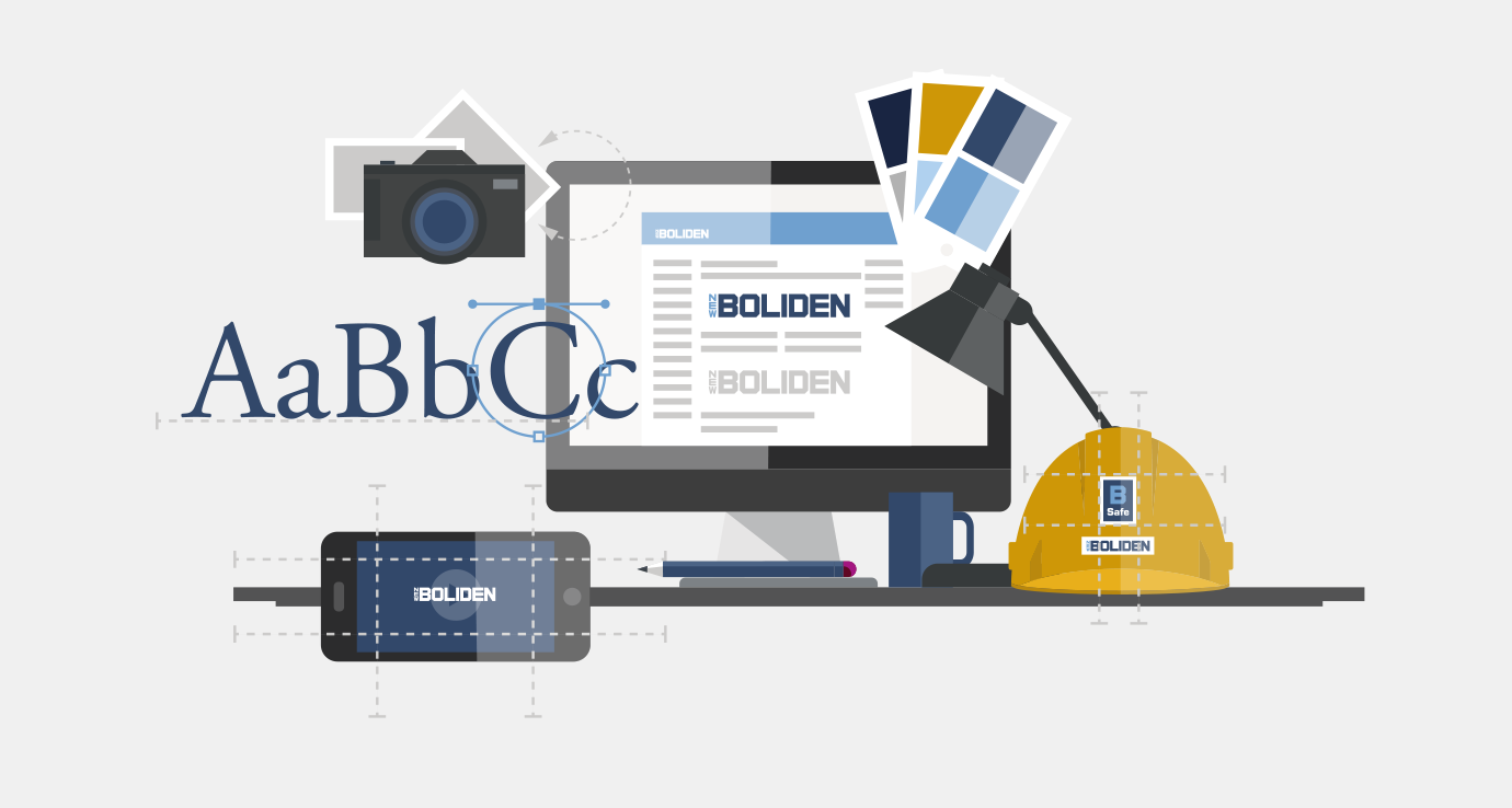 Boliden visual guidelines
